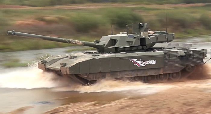 Carro armato T-14 Armata. Ministry of defence of the Russian Federation.