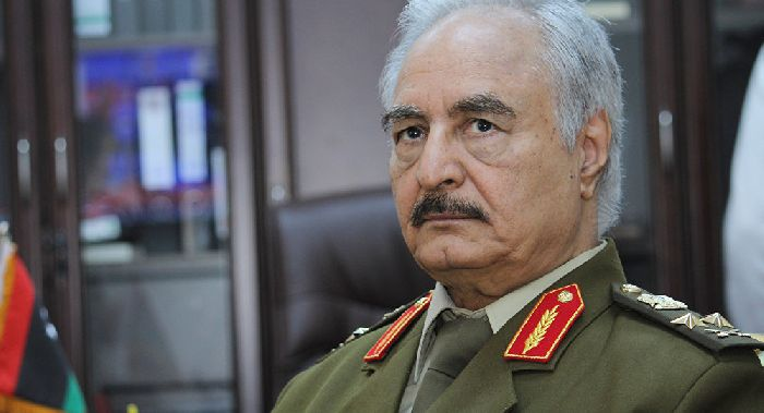 Maresciallo Haftar. © AP Photo / Mohammed El-Sheikhy. Da: it.sputniknews.com.