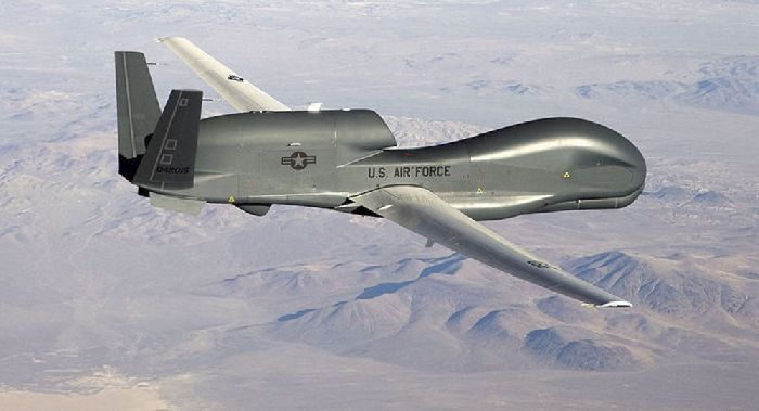 Drone spia americano. © Foto: U.S. Air Force/Bobbi Zapka. Da: it.sputniknews.com.