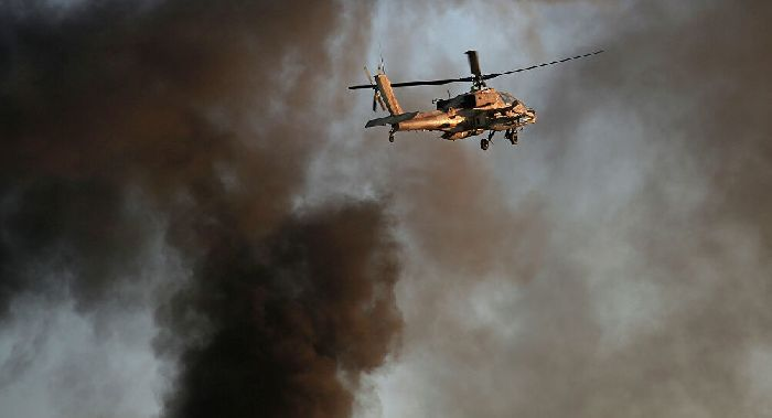 Elicottero Apache delle forze israeliane. © AP Photo / Tsafrir Abayov. Da: it.sputniknews.com.